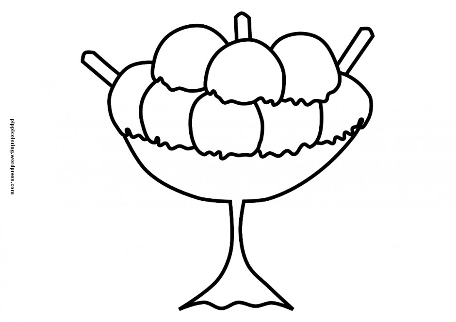 Ice cream sundae bowl clipart black and white clipart free download Free Cartoon Ice Cream Sundae, Download Free Clip Art, Free ... clipart free download