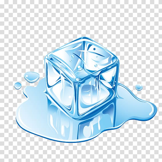 Ice cubes clipart freezing graphic library stock Melting ice cube illustration, IceCube Neutrino Observatory ... graphic library stock