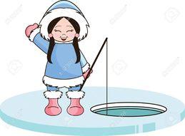 Ice fishing cartoon clipart royalty free download Download eskimo fishing cartoon clipart Ice fishing Clip art royalty free download