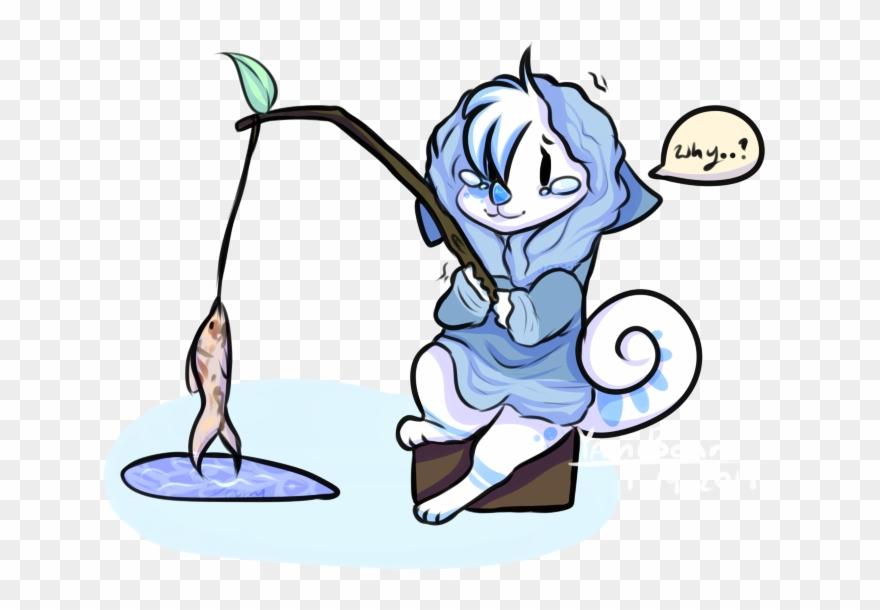 Ice fishing cartoon clipart svg library Eskimo Drawing Ice Fishing - Fishing Clipart (#241267 ... svg library