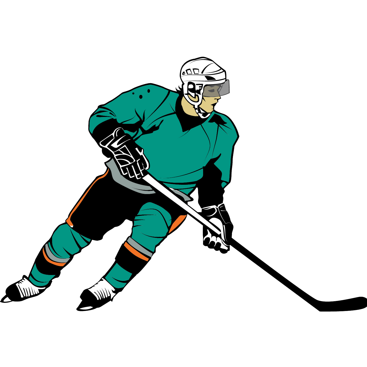 Ice hockey clipart free clip black and white download Free Girls Hockey Cliparts, Download Free Clip Art, Free ... clip black and white download