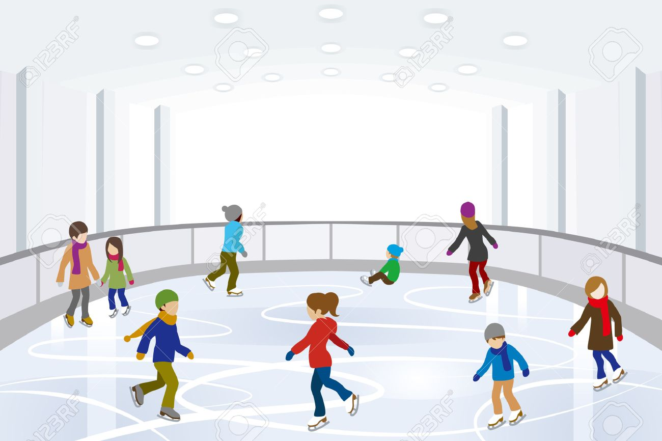 Ice rink clipart wallpaper image royalty free library Ice Skate Clipart Group with 65+ items image royalty free library