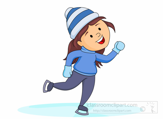 Ice skating character clipart vector download Ice skating character clipart - ClipartFest vector download