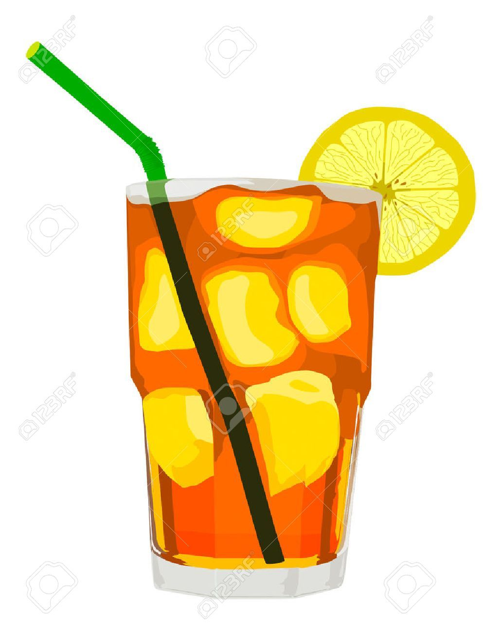 Iced tea clipart graphic black and white Ice tea clipart 5 » Clipart Portal graphic black and white