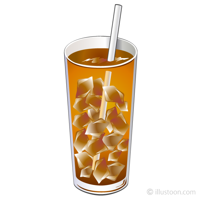 Iced tea clipart clipart black and white library Iced Tea Clipart Free Picture Illustoon clipart black and white library