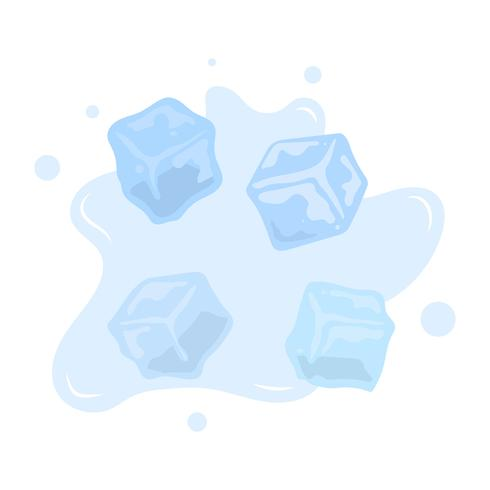 Ice vector clipart free Flat Ice Cube Vector Clipart Collection - Download Free ... free