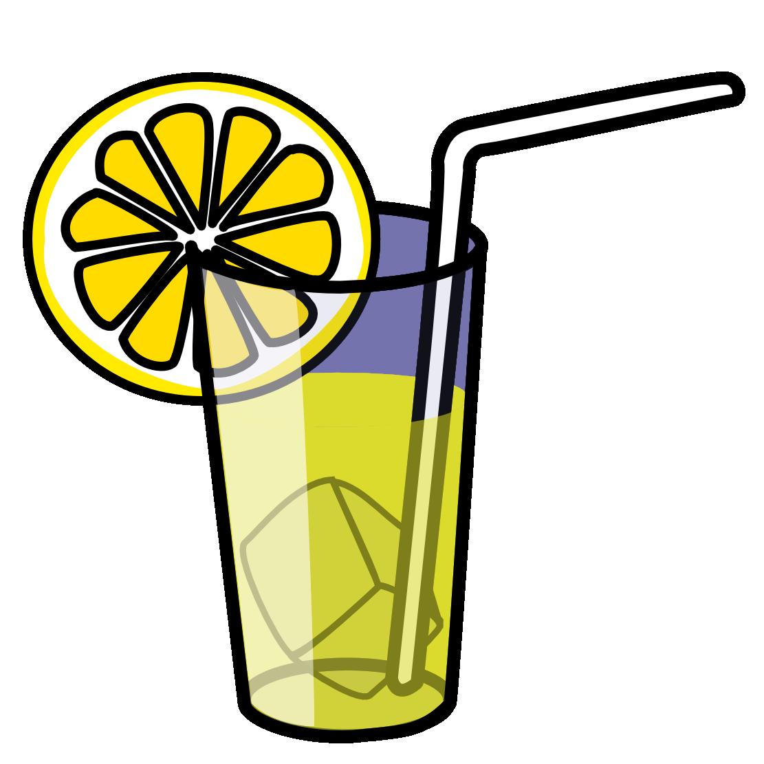 Iced tea clipart
