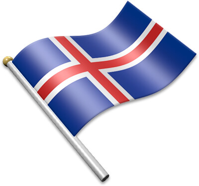 Icelandic clipart picture transparent stock Flag Icons of Iceland | 3D Flags - Animated waving flags of ... picture transparent stock