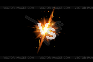 Ico vs clipart clip art royalty free library Vs versus battle sport background. Versus fight ico - vector ... clip art royalty free library