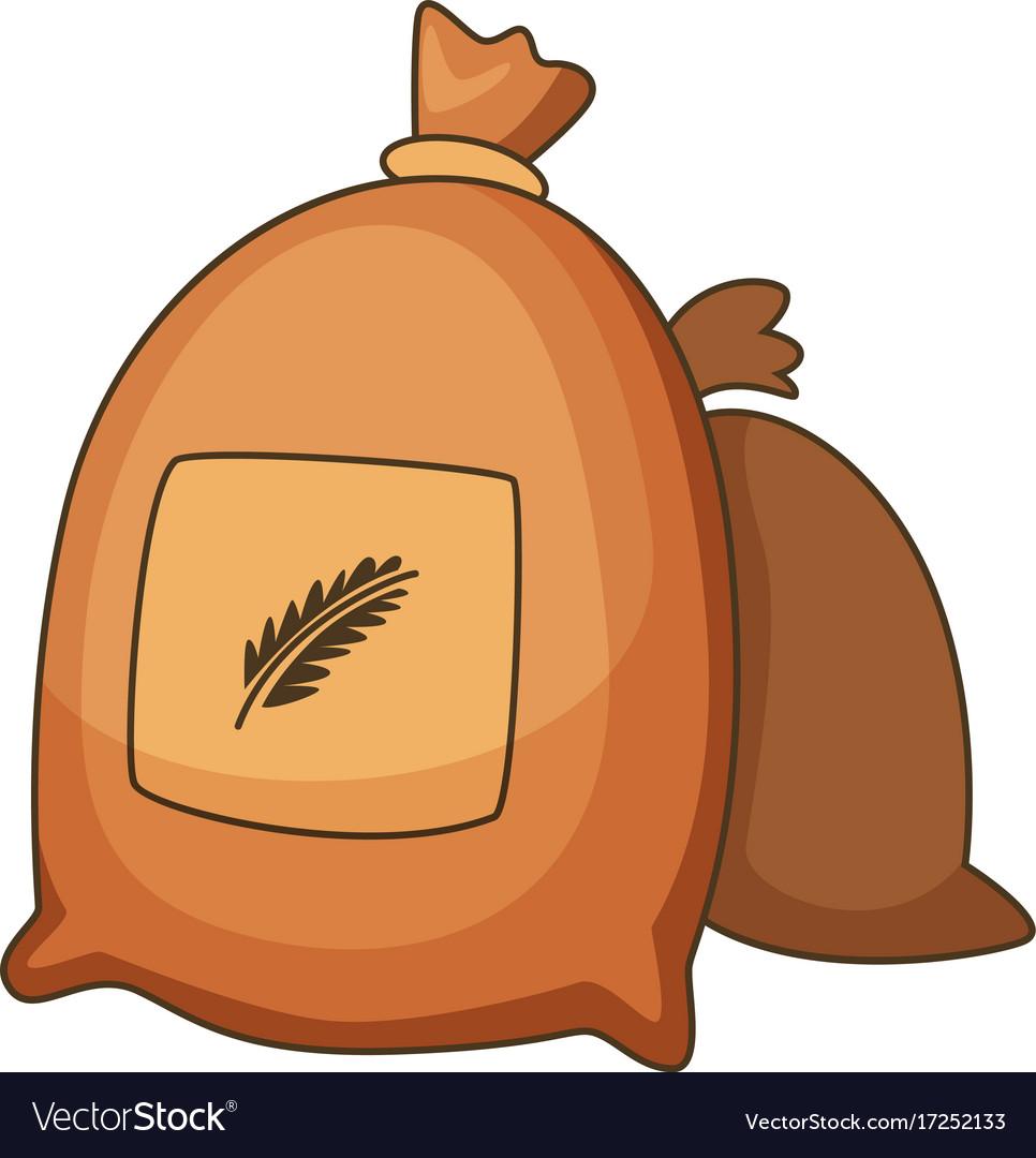 Icon cartoon clipart image transparent download Wheat bag icon cartoon style image transparent download