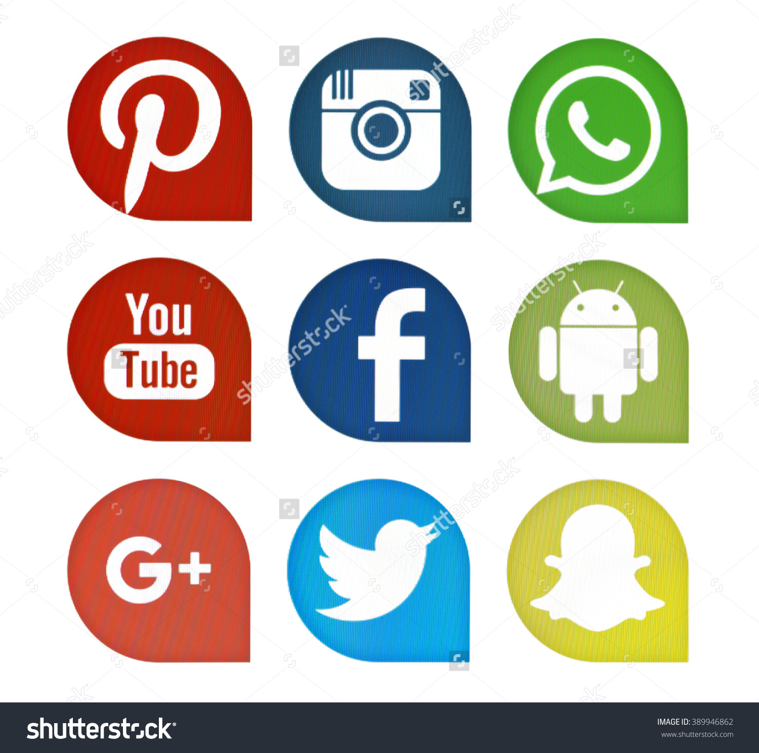 Icon clipart facebook and instagram graphic transparent library Kiev, Ukraine - May 23, 2016: Set of most popular social media ... graphic transparent library