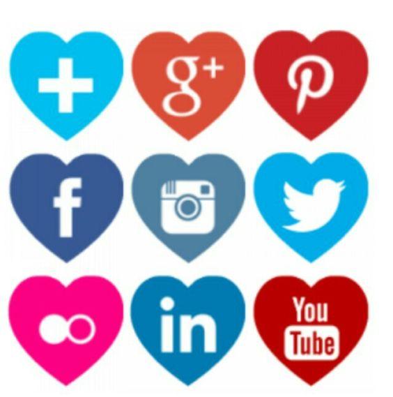 Icon clipart facebook and instagram vector stock Deebowl #DeebowlSocialPlatform #FollowUsOn #Twitter #LinkedIn ... vector stock