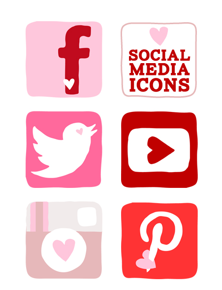 Icon clipart facebook and instagram clip art free This free set of Valentine's Day icons features designs for ... clip art free