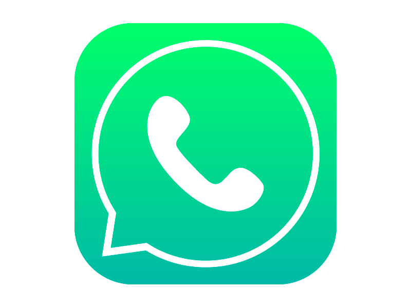 Icone do whatsapp clipart picture free Whatsapp icon with iOS7 style | App Icons | App icon, Icon ... picture free
