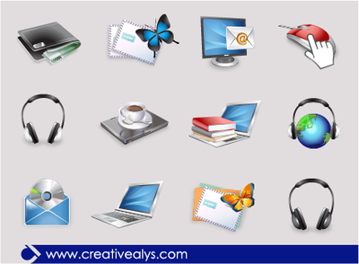 Icones 3d clipart clip Free Glossy 3D Web Icon Packs Clipart and Vector Graphics ... clip