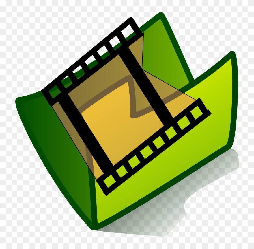 Icono carpeta clipart jpg freeuse library Icono De Carpeta De Video Clipart (#127295) - PinClipart jpg freeuse library
