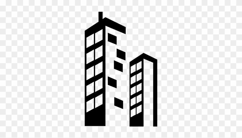Icono edificio clipart clipart freeuse download Skyscraper Buildings Vector - Edificio Icono Png - Free Transparent ... clipart freeuse download