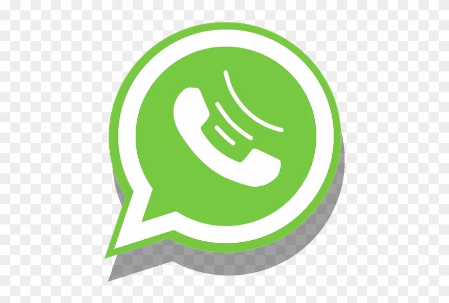 Icono telefono clipart royalty free stock Whatsapp Icon With Ios7 Style By Mononelo - Icono Telefono Y ... royalty free stock
