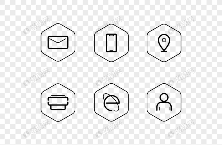 Iconos para tarjetas de presentacion clipart graphic black and white download tarjeta de presentación vector icono de estructura de alambre ic ... graphic black and white download