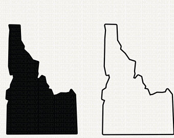 Idaho state clipart png royalty free library Outline Of Idaho | Free download best Outline Of Idaho on ClipArtMag.com png royalty free library