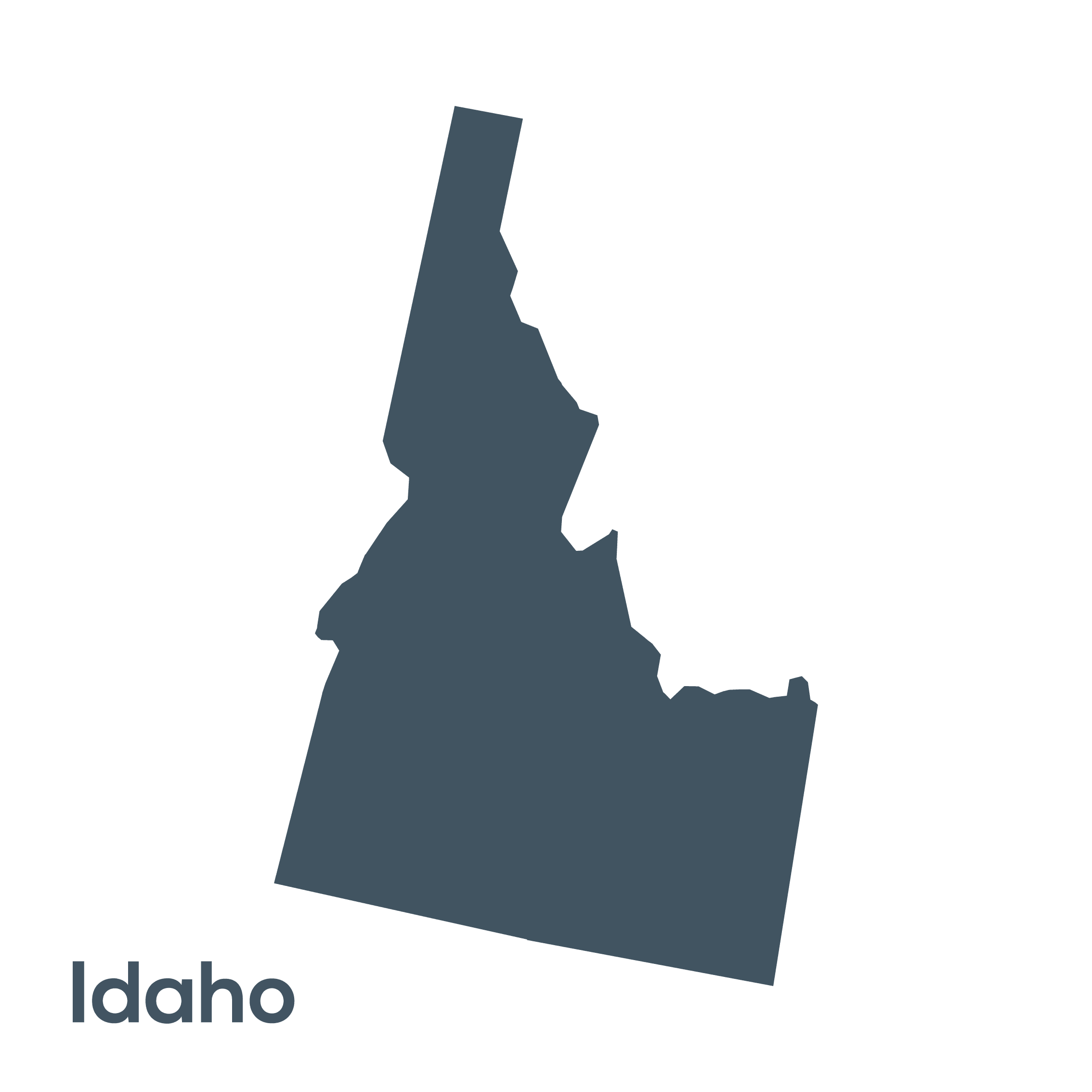 Idaho state clipart clipart library download U.S. States - Shapes and Names | Clipart | PBS LearningMedia clipart library download