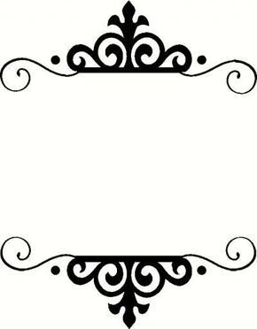 Ideas for clipart vinyl in frams for cricut clip stock Frame K | Cricut ideas & measurements | Frame, Borders, frames ... clip stock