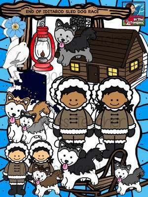 Iditarod clipart svg download Alaska MEGA Clipart Bundle   Iditarod   Clip art, Teaching, Alaska svg download