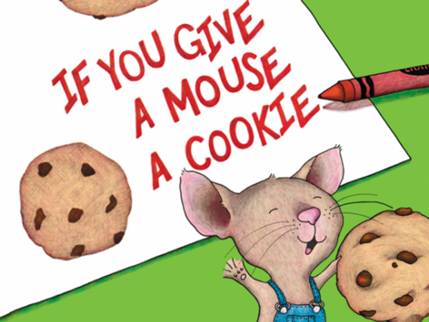 If you give a mouse a cookie mouse clipart vector free stock Tiny Tales: If You Give A Mouse A Cookie - Clay Center vector free stock