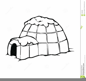Igloo cartoon clipart free download Igloo Cartoon Clipart   Free Images at Clker.com - vector clip art ... free download