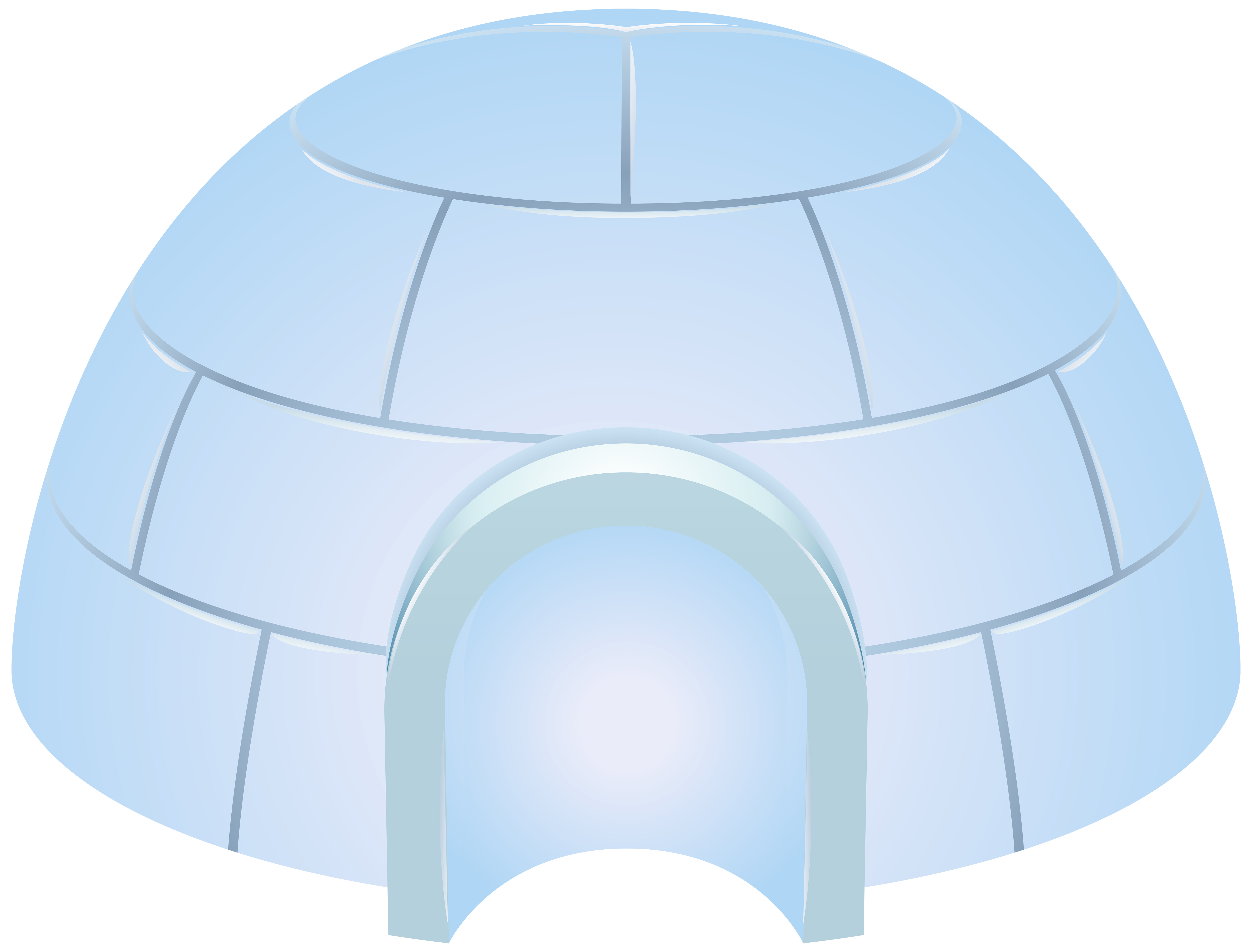 Igloo Icehouse PNG Clip Art | Gallery Yopriceville - High-Quality ... jpg black and white download