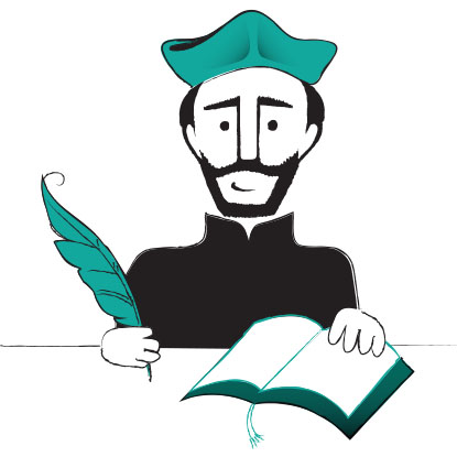 Ignatius of loyola clipart graphic transparent library July and the Feast of St. Ignatius of Loyola - Catechist\'s Journey graphic transparent library
