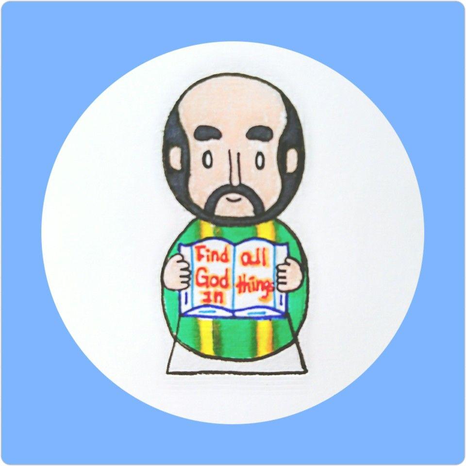 Ignatius of loyola clipart clip download Find God in all things~ Saint Ignatius of Loyola   St.Ignatius of ... clip download