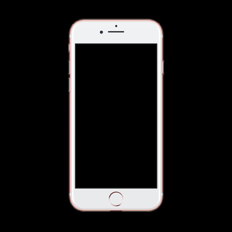 Iphone 7 sketch png transparent artwork clipart vector freeuse download MockUPhone vector freeuse download