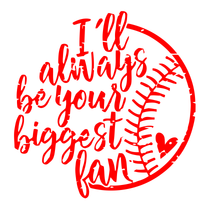 Ill be your biggest fan shirt clipart clip art library stock SoftballBaseball clip art library stock