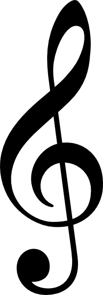 Image clipart clef clipart download Treble Clef Without Line clip art Free vector in Open office ... clipart download