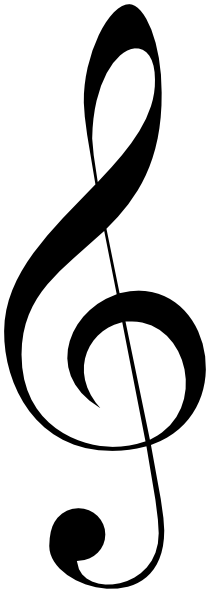 Image clipart clef image transparent stock Treble Clef Clipart & Treble Clef Clip Art Images - ClipartALL.com image transparent stock