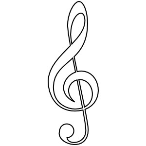 Image clipart clef transparent stock Free treble clef clip art - ClipartFest transparent stock