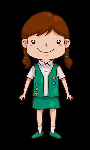 Image clipart girl clipart free stock Girl Scout Clipart - Clipart Kid clipart free stock