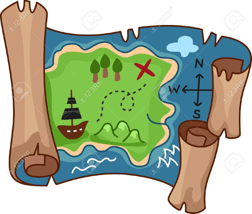 Treasure map scroll clipart graphic library download Treasure Map Clipart Rf Scroll Free By - Clipart1001 - Free Cliparts graphic library download