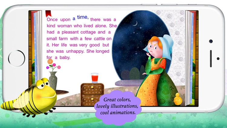 Image of a mold from thumbelina story clipart clipart royalty free stock Thumbelina by Story Time for Kids by Mariya Bohari clipart royalty free stock