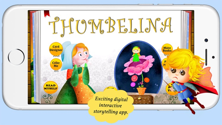Image of a mold from thumbelina story clipart png library Thumbelina by Story Time for Kids by Mariya Bohari png library