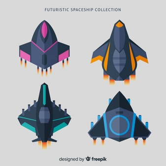 Image of a sdpaceship of the future clipart svg freeuse download Spaceship Vectors, Photos and PSD files | Free Download svg freeuse download