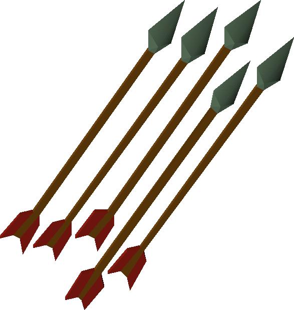 Image of arrow graphic transparent stock Adamant arrow | Old School RuneScape Wiki | FANDOM powered by Wikia graphic transparent stock