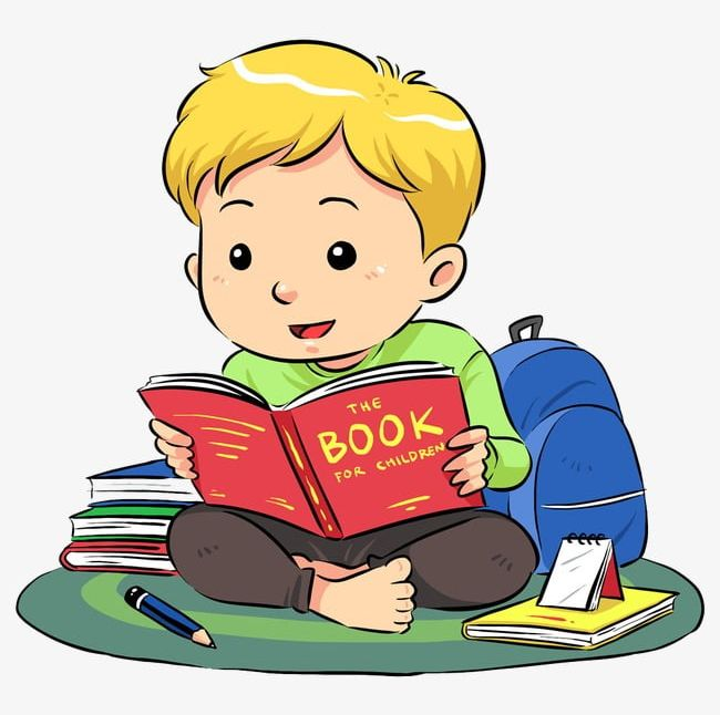 Image of clipart boy reading book vector transparent Reading Boy PNG, Clipart, Bag, Blond, Blond Boy, Book, Boy Free PNG ... vector transparent