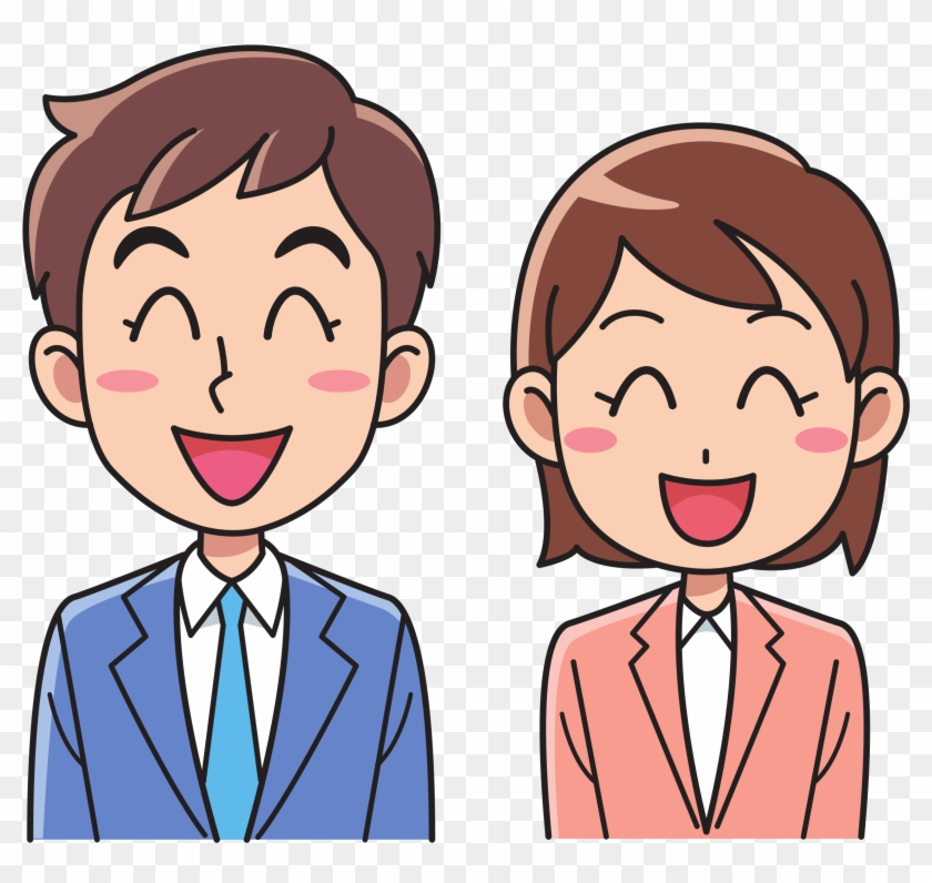 Image of clipart pertaining to a man svg free library Download Free png Related Clipart People Laughing Man And Woman ... svg free library