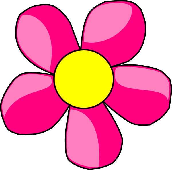 Image of flower clipart banner free download 28+ Collection of Yellow And Pink Flower Clipart | High quality ... banner free download