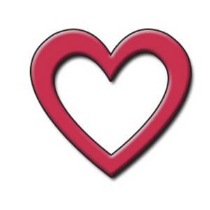 Image of open hearts clipart transparent download Open Heart Outline Clipart Best - Cliparts and Others Art Inspiration transparent download