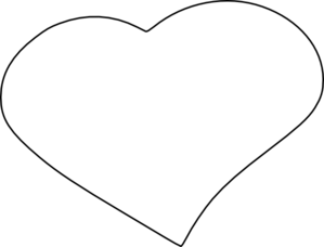 Image of open hearts clipart vector freeuse download Open Heart Clip Art at Clker.com - vector clip art online, royalty ... vector freeuse download