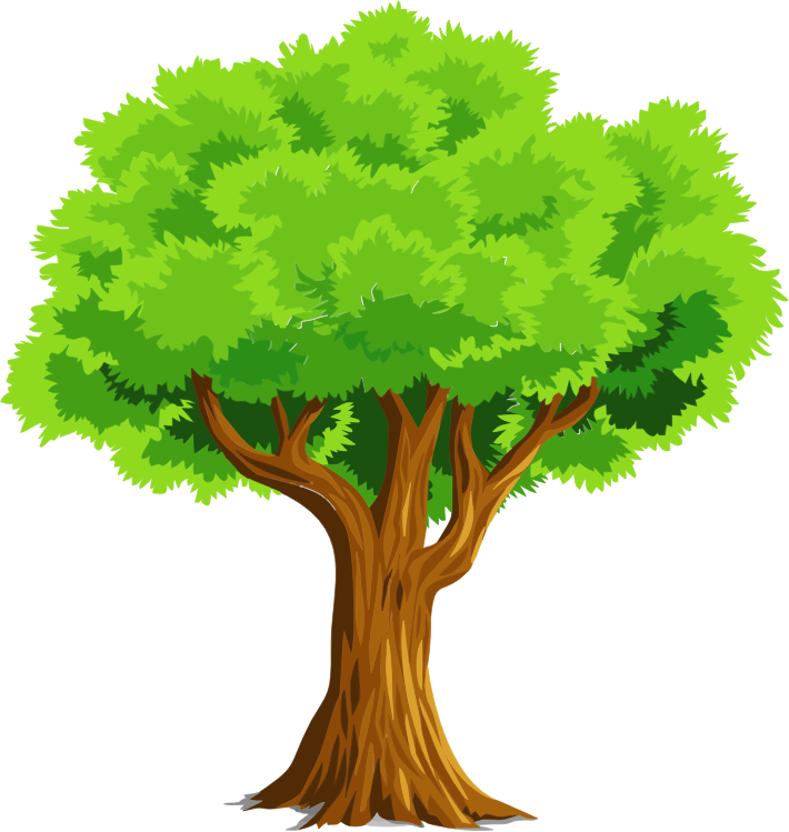 Tree hug clipart vector royalty free Simple Tree Clipart For Free 4617 - Clipart1001 - Free Cliparts vector royalty free