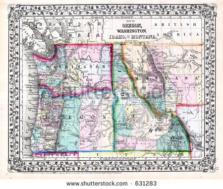 Image pacific northwest clipart map clip art Image pacific northwest clipart map - ClipartNinja clip art